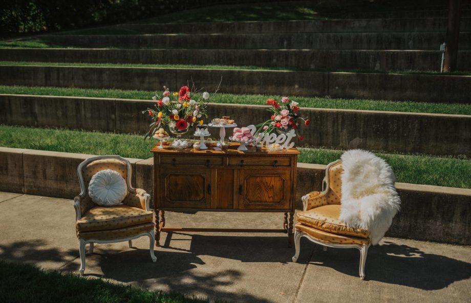 Chloe's Vintage Rentals Wedding Decor-76