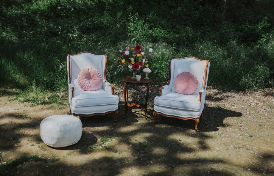 Chloe's Vintage Rentals Wedding Decor-105
