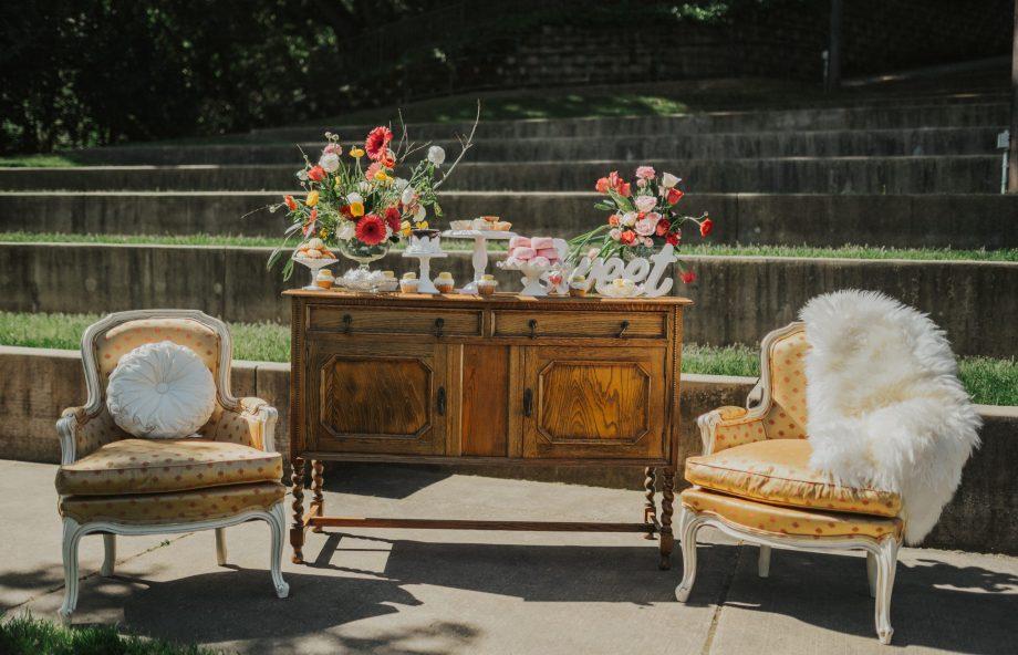 Chloe's Vintage Rentals Wedding Decor-89